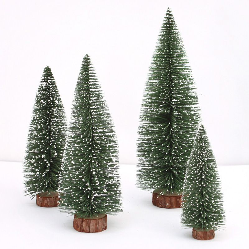 car decoration mini christmas tree ornaments christmas decorations christmas decorations desktop decoration snowflake pine in ornaments from automobiles - Decorated Christmas Trees For Sale