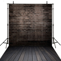 Dark Grey Photography Backdrops Brick Wall Vinyl Backdrop For Photography Kids Foto Background For Photo Studio Foto Achtergrond