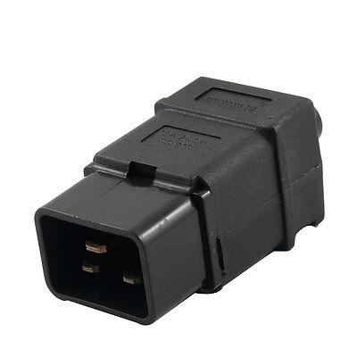 Sourcingmap IEC320 Lot de 5 Paires de connecteurs pour Prise C13 10 A 3 bornes