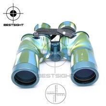 Buy Military 7X50 Navy Camouflage Binoculars Ranging Reticle Telescope HD Binocolo Professionale Binoculars Long Range