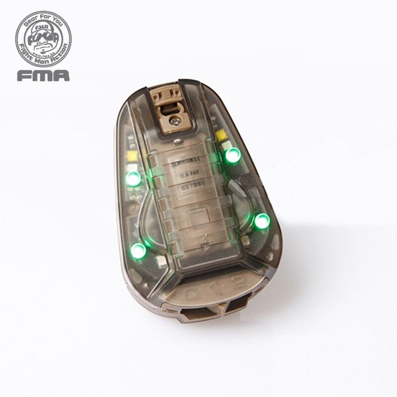 FMA HEL STAR6 GEN III Green Light Survival Safety Flash Light Outdoor Sports Equipments 1286