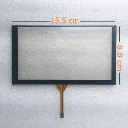 Raspberry Pi kompatybilne 6 cal ekran dotykowy zawiera kontroler usb 4 drut oporowy Panel z ekranem dotykowym