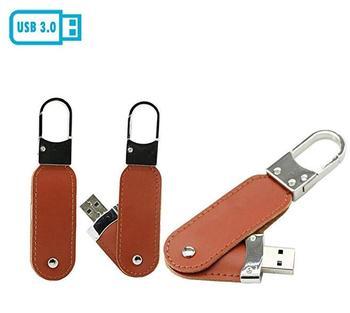 Leather USB Flash Drive Pen Drive Memory Stick Card USB 3.0 Flash Disk Thumb Drive U Disk 8GB 16GB 32GB 64GB 128GB