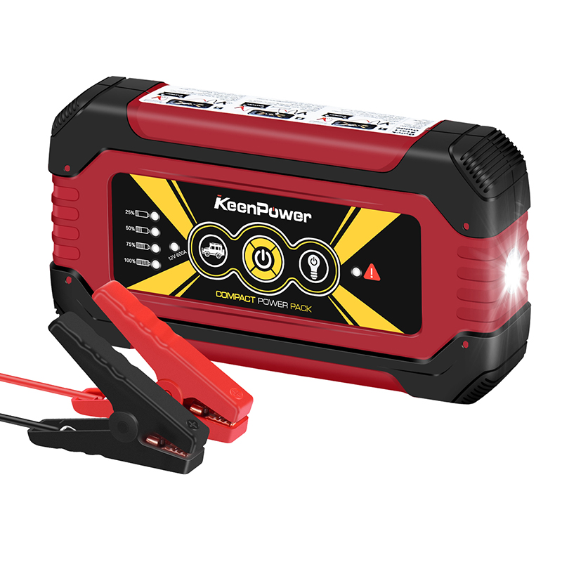 Keenpower High capacity Portable 12V 600A/900A Car Power Battery Booster Buster Petrol Diesel Car-Stlying Car Jump Starter keenpower high quality mini car jump starter 12v car stlying starting device 600a charger car battery booster buster