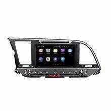 "Klyde 2 DIN 8 ""Android 7.1 Автомобильный Мультимедийный Плеер для Hyundai Elantra 2016 автомобильный Радио стерео 4 ядра dvd-плеер Аудиомагнитолы автомобильные"