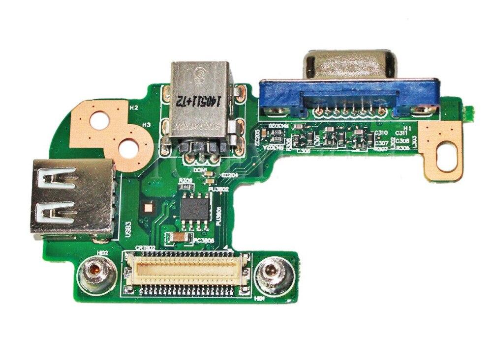 WZSM DC Power Jack USB board for DELL INSPIRON 15R N5110 PFYC8 наклейка на наутбук kh inspiron 15r 5537