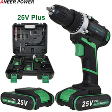 48 N/M Torque Cordless Drill Batteries Drill Electric Screwdriver Power Tools Mini Electric Drill Drilling Battery Screwdriver ac220v 380w 580w 3 8 inch with keyless all metal chuck electric drill screwdriver household tools torque adjustment drill