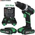 48 N/M par baterías taladro destornillador eléctrico herramientas Mini taladro eléctrico de batería destornillador