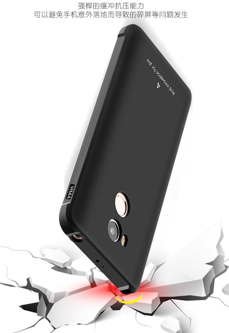 Luksusowe phone case dla xiaomi redmi 4 4pro wysokiej jakości miękkiego silikonu ochronne powrotem objąć przypadki dla xiaomi redmi4 pro shell 8