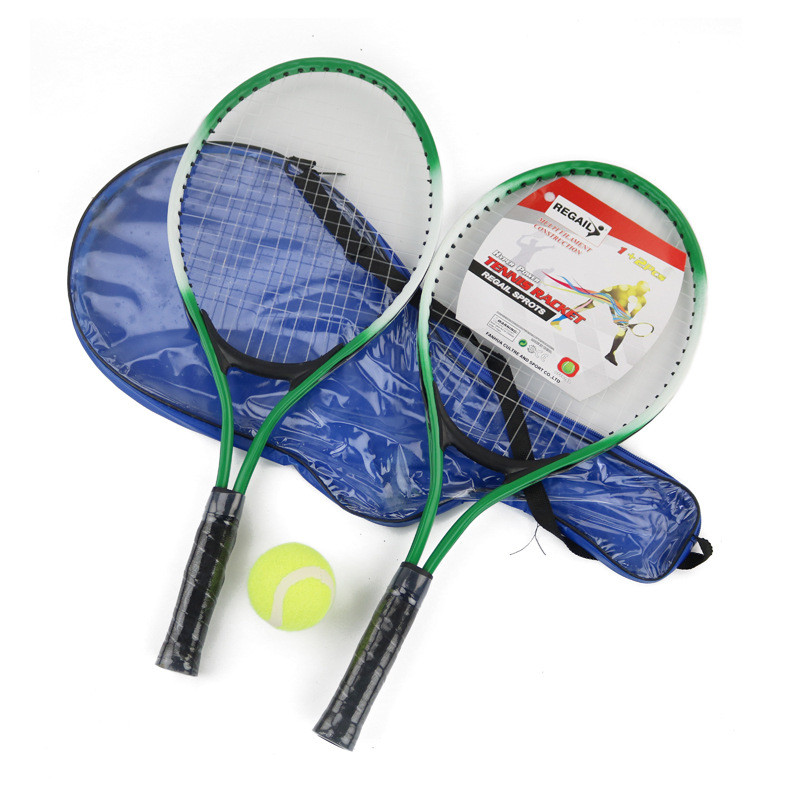2pcs Children Tennis Racket For Training Raquete De Tennis Carbon Fiber Top Steel Material Tennis String Outdoor Sports