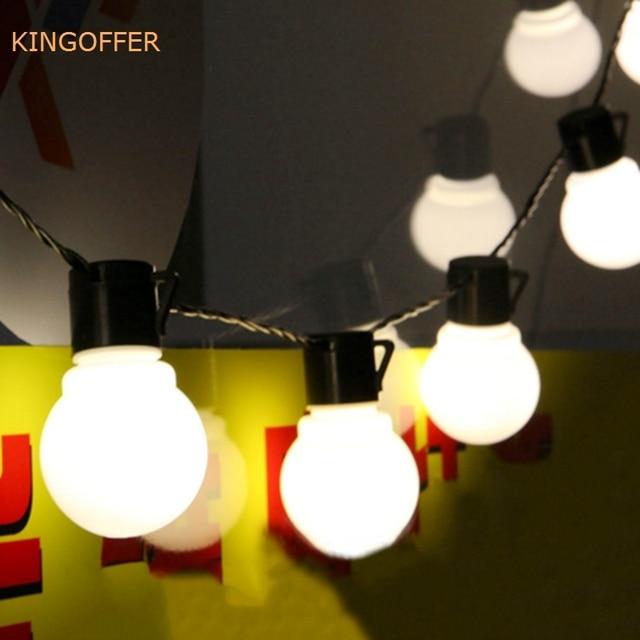 10m 38leds 5cm big size balls led string fairy christmas lights outdoor guirlande lumineuse led party