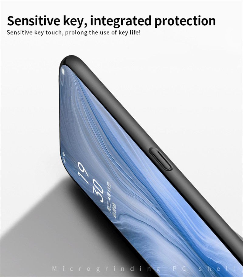 Image 5 - For Oppo Reno Case Shockproof Silm Luxury Ultra Thin Smooth Hard PC Phone Case For Oppo Reno Back Cover For Oppo Reno Fundas-in Fitted Cases from Cellphones & Telecommunications