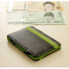 2017 New Arrival Men Wallets Business/Casual Short Bags Personality Money Clip Patchwork Card Small Holders Male Magic Wallet(China)