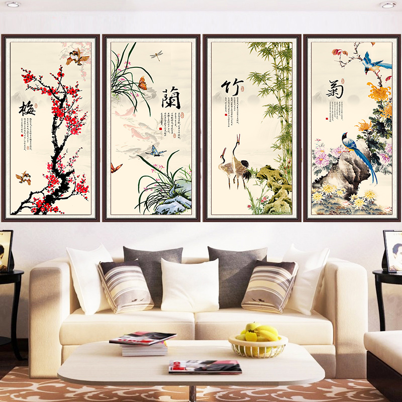 Meian Diamond Embroidery Chinese Classic Literature DIY Diamond Painting Full Cross Stitch Diamond Mosaic Picture Home
