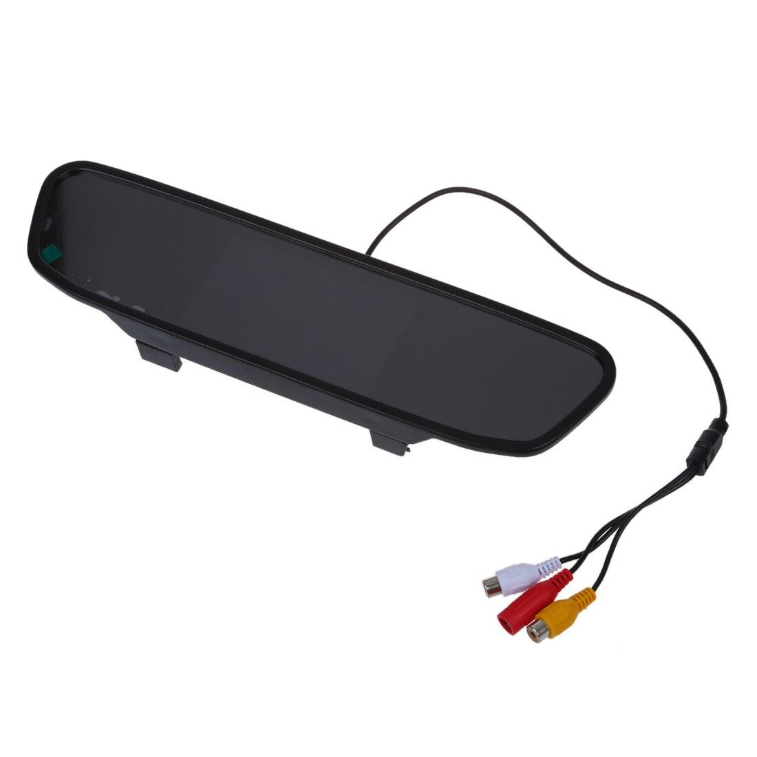 4.3 TFT LCD Moniteur rétroviseur miroir rétroviseur AUTO VOITURE DVD AV