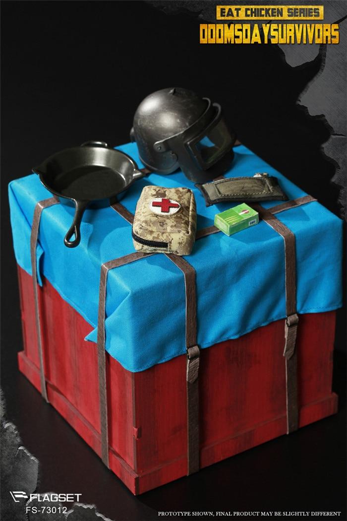Juego completo de colección figura de acción 1/6 FS73012 supervivencia de Doomsday comer pollo serie de juguetes modelo para regalos de Fans-in Figuras de juguete y acción from Juguetes y pasatiempos    2