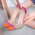 Rivets High Heels 2017 Summer New Transparencies High Heels Brand Shoes Pointed Toe Women Pumps Sapato Feminino Shoes Plus 098