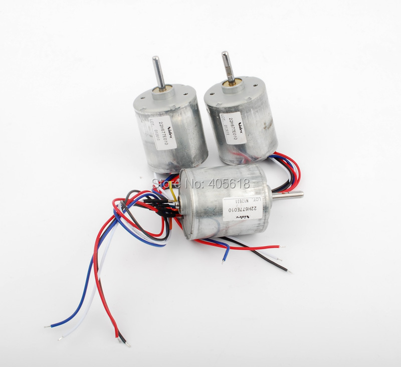 low price 3pcs 6v 12v 400ma nidec 3 phase brushless dc