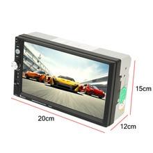 2 Din Car Radio MP5  7inch HD Touch Screen With Digital Phone FM/MP3/MP4/Audio/Video/USB Auto In Dash