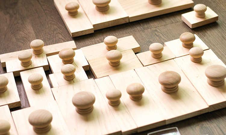 Custom พวงหรีดไม้แสตมป์จากห้องสมุดแสตมป์ไม้แสตมป์ยาง, ส่วนบุคคลจากโต๊ะแสตมป์,
