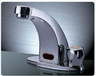 Здесь можно купить  Free Shipping!Temperature sensitive faucets.Automatic Sense Basin mixer faucets.Brass Sink .bathroom Faucet.1pcs/lot  Строительство и Недвижимость