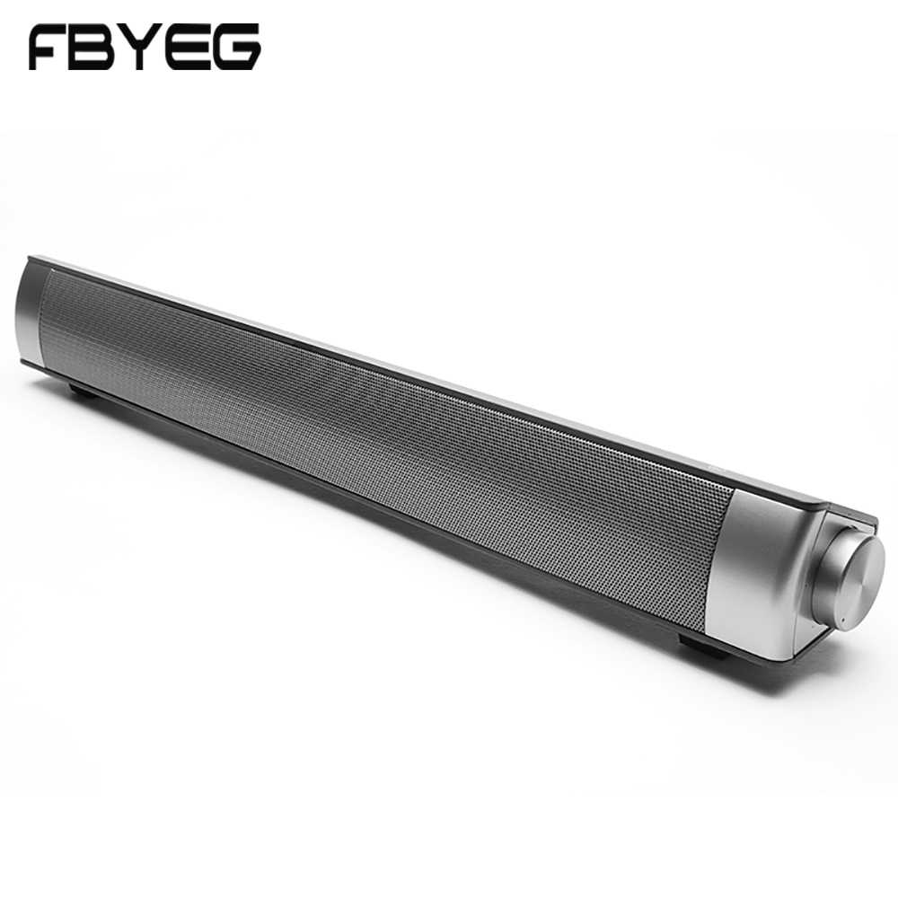 5bc4dc0b4 FBYEG Altavoz Bluetooth inalámbrico portátil barra de sonido 10 w Super  Bass estéreo altavoz con micrófono