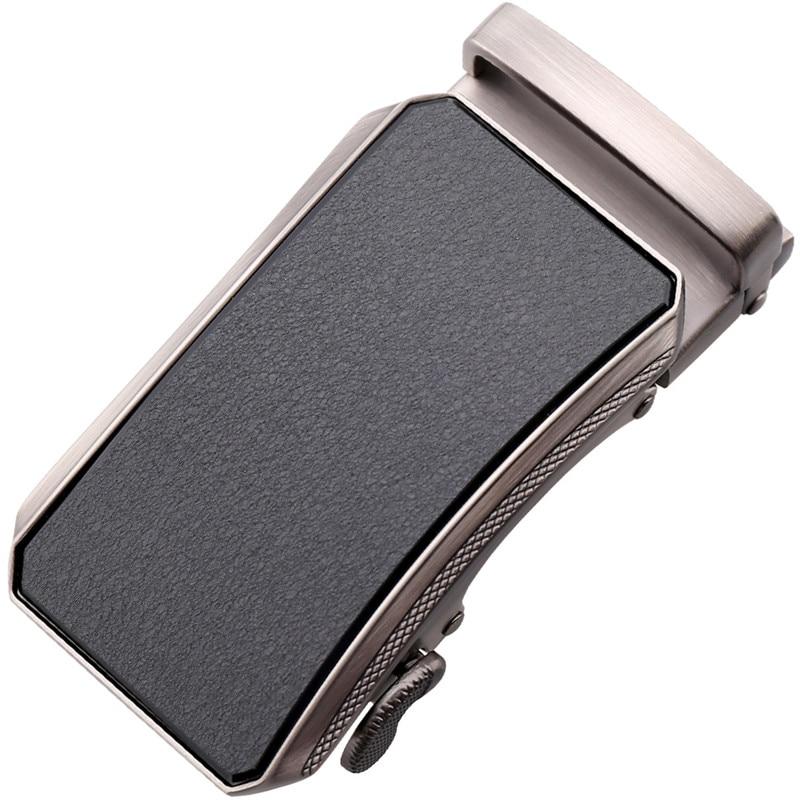LannyQveen New Model Belt Buckle Automatic Buckles No Strap Ratchet Buckle Factory Belt Accessories