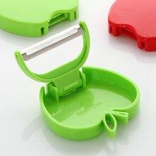 Kitchen Accessories Funny Folding Apple Peeler Graters Kitchen Parer Slicer Gadget Vegetable Fruit Turnip Slicer Carrot Shredder