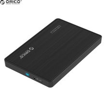 Original ORICO 2.5 Inch HDD/SSD Hard Drive External Enclosure Interface USB 3.0 to SATA 3.0 Tool Free Desktop PC Hard Disk Box