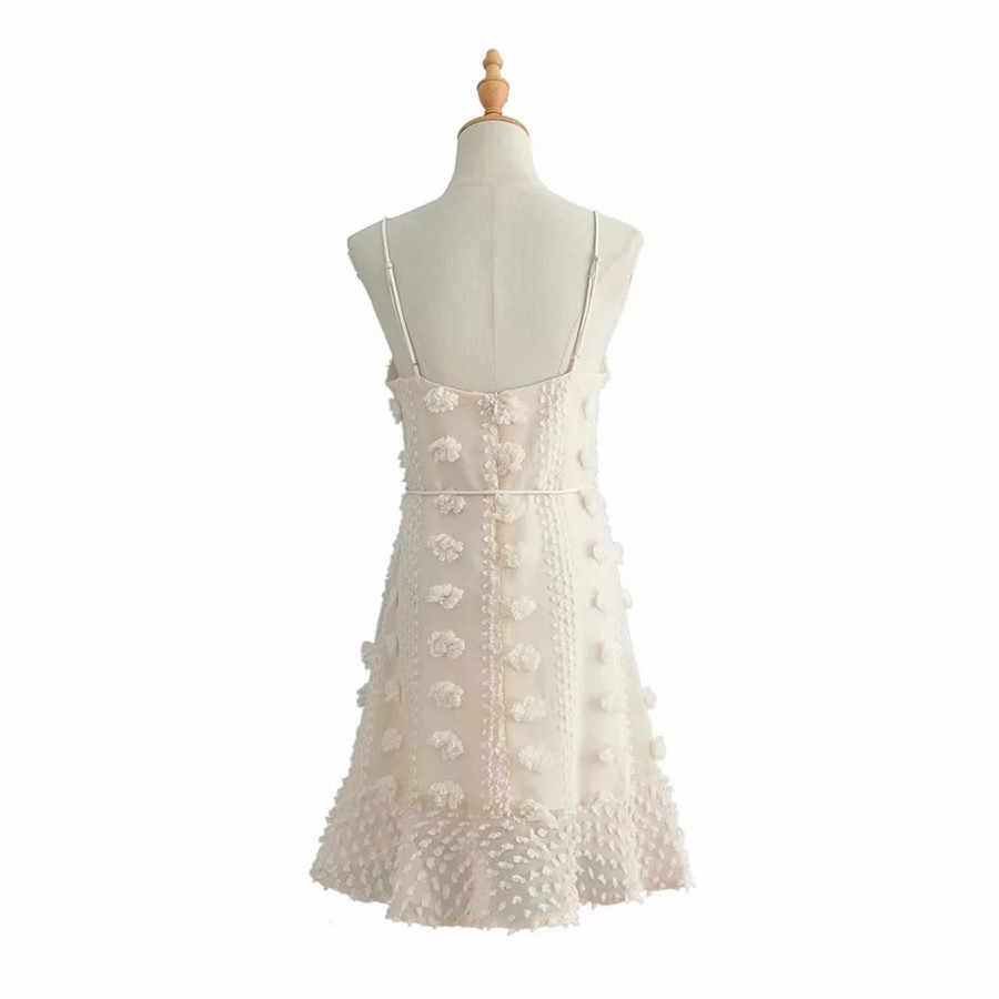 Новинка 2019, женское модное сексуальное платье без рукавов кремового цвета, милые платья, сексуальное платье с открытой спиной на бретельках, праздничное платье
