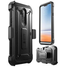 SUPCASE untuk LG G7 Thinq Case Cover 6.1 Inch UB Pro Full-Body Kasar Sarung Klip Pelindung Case dengan built-In Screen Protector(China)