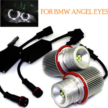 hot sell Angel Eyes LED Marker  Bright White 2x 40W for BMW E39 E53 E64 1567 series