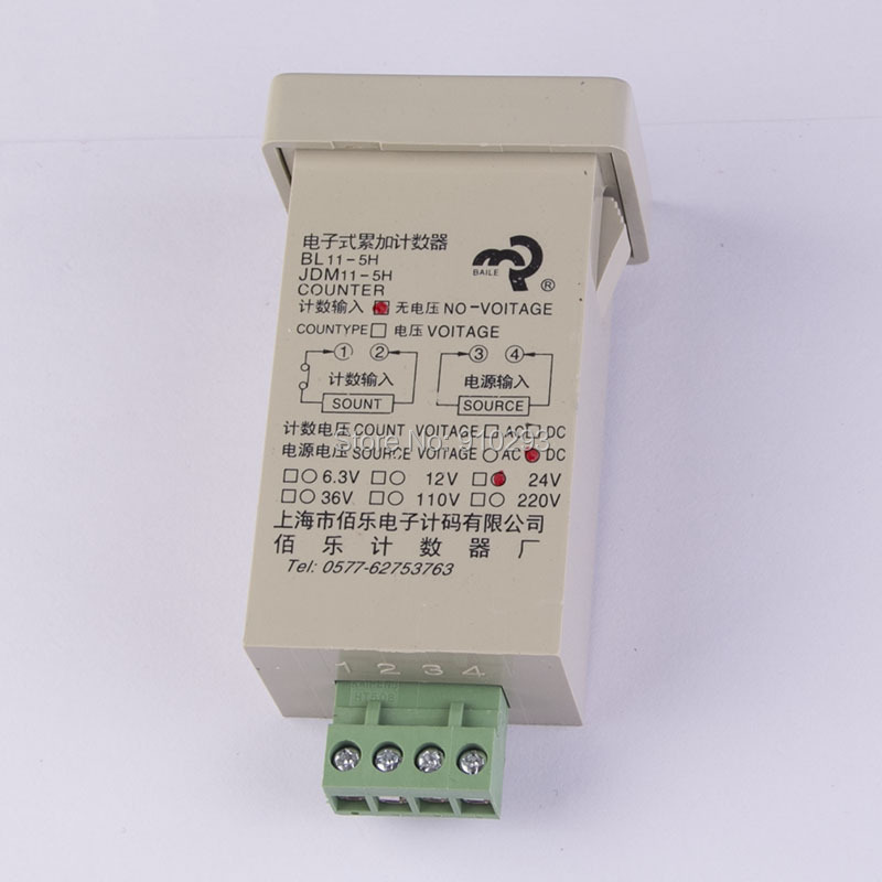 5-digit digital electronic counter JDM11-5H power-off memory power and memory 6 electronic counter jd116h other page href