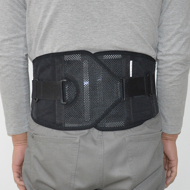 59a8eabdf42 Adjustable Waist Support Braces   Supports Neoprene Double Pull Lumbar  Support Elasticated Lower Back Belt Brace