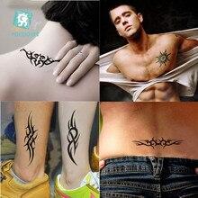 Rocooart Waterproof Temporary Tattoo Stickers Men Women Body Art Painting Sexy Waist Shoulder Fake Harajuku Flash