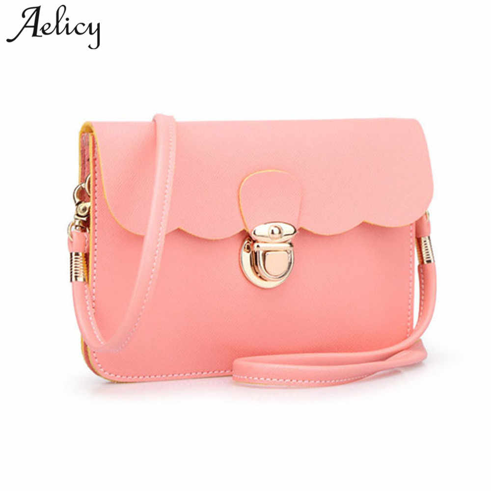Aelicy New Womens Shoulder Bag Clutch Handbag Tote Purse High Quality PU  Leather Crossbody Famous Brand c70225d904