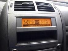 מקורי מפעל תמיכה USB כפול אזור אוויר Bluetooth תצוגת צהוב צג 12 פין עבור פיג ו 307 407 408 סיטרואן c4 C5 מסך