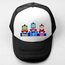 Cartoon Thomas And His Friends Unisex Baseball Cap Men Women Girl Boy Snapback Hat Trucker Caps Summer Hip Hop Cap Adjustable