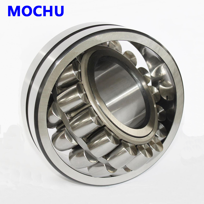 1pcs MOCHU 22211 22211E 22211 E 55x100x25 Double Row Spherical Roller Bearings Self-aligning Cylindrical Bore 1pcs 29238 190x270x48 9039238 mochu spherical roller thrust bearings axial spherical roller bearings straight bore