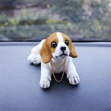 Автомобиль орнамент кивая собака качает головой встряхивания собака автомобиль Стайлинг милый Bobblehead собака кукла для автомобиля интерьера украшения