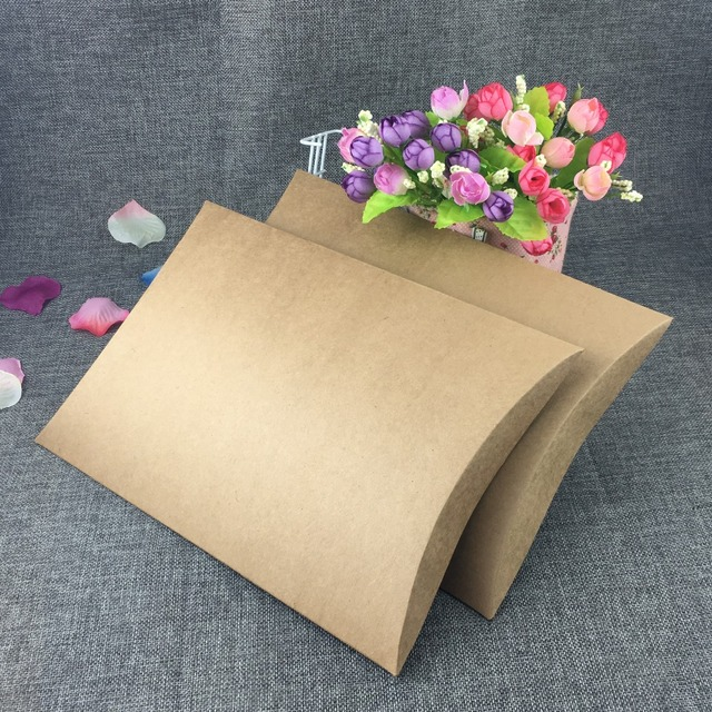 for products kraft etc brown gift x boxes pillow pillowboxes embellishing inches