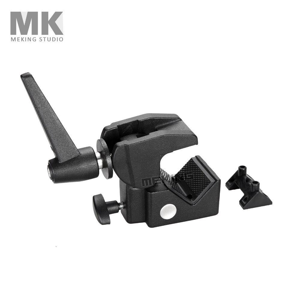 Meking Photo Studio Clip Multi-function M11-034 Super Studio Clamp With Stud Photo Studio Accessories