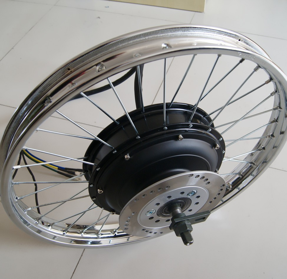motor with rim