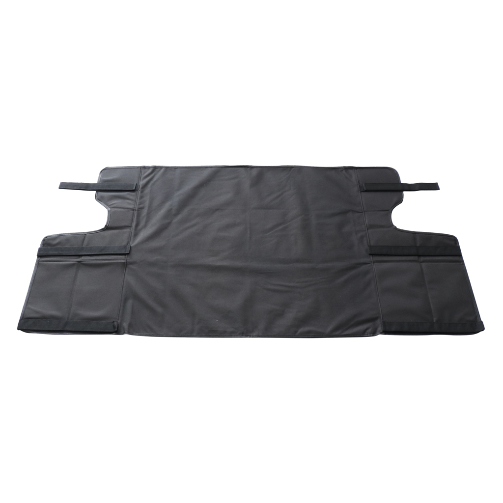 Trunk Cargo Luggage Shade Cover Shield Board Black For Jeep Wrangler 07 17