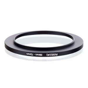Image 2 - Оригинальный увеличивающий кольцевой фильтр RISE(UK) 58 мм 72 мм 58 72 мм 58 до 72 черный