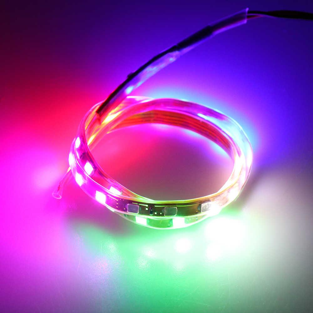 Waterproof Car Auto Decorative Flexible LED Strip Light 12V 45cm/90cm Car LED Daytime Running Light Car LED Strip Light DRL