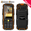 Russian English Keyboard VKWorld Stone V3 Waterproof Dropproof Dustproof 2.4 inch Mobile Phone 6531CA GSM FM Cellphone