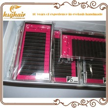 12 rows/tray Fake False eyelashes Extension L JC curl 8mm 10mm 12mm 14mm All sizes individual artificial eye lashes