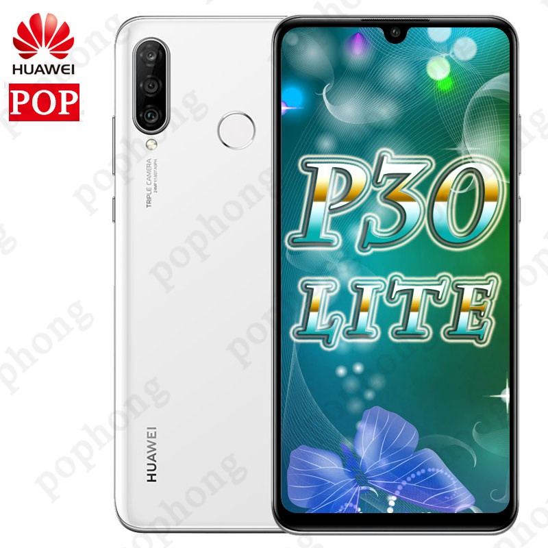 グローバルバージョン Huawei 社 P30 Lite 4 ギガバイト/6 ギガバイト 128 ギガバイトのスマートフォン 6.15 インチキリン 710 オクタコア携帯電話の Android 9.0 デュアル SIM  グループ上の 携帯電話 & 電気通信 からの 携帯電話 の中 1
