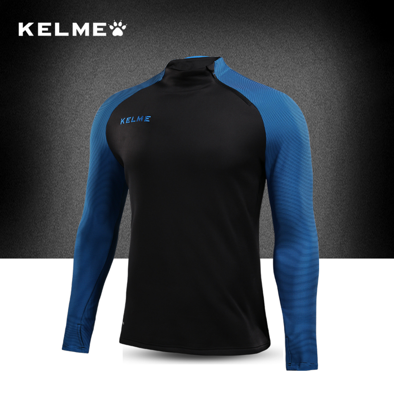 KELME Mens Spring Compression Soccer Training Jersey Jacket Sweaters Zipper Jackets Football Shirts Sporting Jerseys 3871301